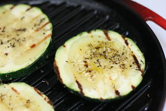 Courgette au grill