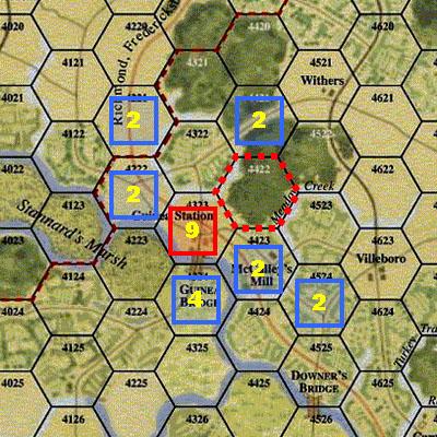 GCACW - Flank Bonus and Restricted ZOC - Fig 1