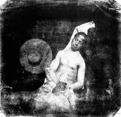 Le Noyé (El Ahogado), Hippolyte Bayard (HippolyteBayard) Tags: selfportrait blancoynegro autorretrato blancinegre hippolytebayard historiadelafotografía lenoyé elahogado