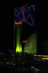 Harrahs New Tower at Night (Steve Maciejewski) Tags: newjersey steve nj casino atlanticcity steven harrahs maciejewski