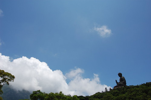 Buddha And Sky