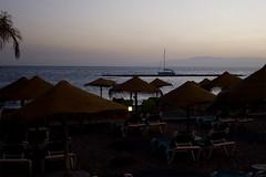 Sailboat in the sunset (michaelgrohe) Tags: ocean sea vacation costa holiday beach island boat meer kanaren canarias atlantic tenerife teneriffa riu inseln adeje