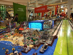 LEGO Sport City by HKLUG (Dunechaser) Tags: hongkong lego events beijing displays olympics olympicgames sportcity summerolympics hklug