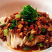 Cha Jiang Lai Mian aka noodles with stir fried pork and broad beans, $11.80