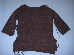Kepler sweater in progress