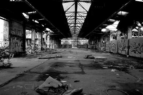 Abandoned DB  depot