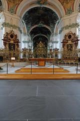 Stiftskirche St. Gallen (fokusblick) Tags: church abbey schweiz switzerland nikon catholic cathedral tripod kathedrale kirche stgallen 00 ch katholisch stiftskirche stgall cablerelease stativ d700 kabelauslser abbeyofstgall nikkorafs1424f28 nullnullminus