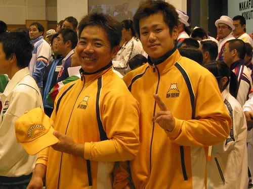 【2003静岡国体】杉山崇選手と平岡勇輝選手