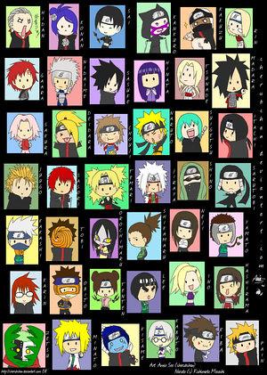 naruto chibi characters