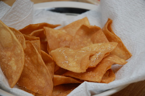 Warm Tortilla Chips