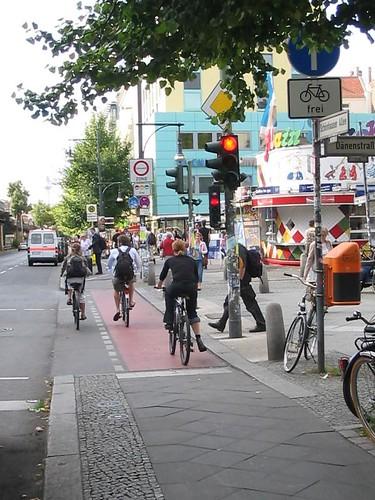 Radweg Schönhauser Allee