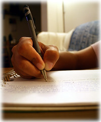 Writing. by Caitlinator, on Flickr