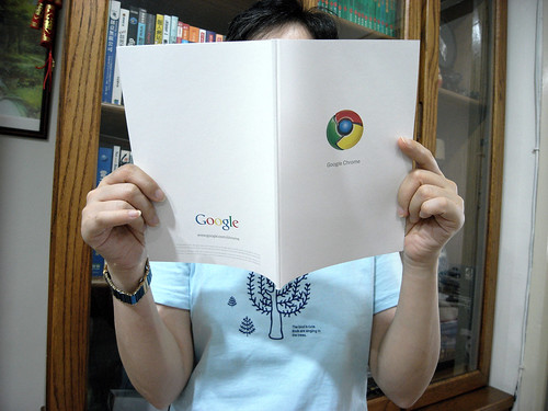 Google Chrome Comic Book