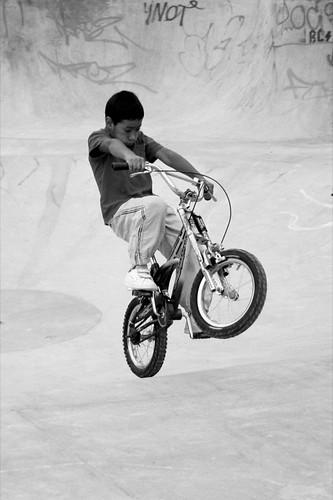 bmx bike jumpers kid
