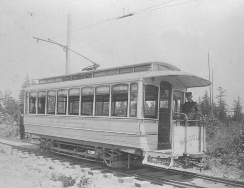 Guy Phinney's private trolley, 1891