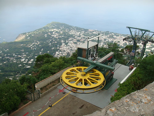 Telesilla que lleva al Monte Solaro - Capri