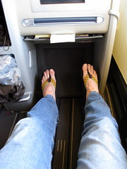 Business Class / Air France Flight 083 () Tags: vacation holiday sexy feet fashion plane walking airplane fly inflight shoes toes legs aircraft curves flight moda jet style aerial stretch jeans flipflops kicks parked boeing 12 idle rtw rasta aereo 747 airliner vacanze avion airfrance longlegs beine legroom b747 1933 747400 businessclass roundtheworld piernas globetrotter size12 areo 083 airplaneseats insidetheplane worldtraveler worldbusinessclass airlineseats skyteam  cabininterior lespaceaffaires interiorcabin inthecabin stavrosfeet  stavroslegs