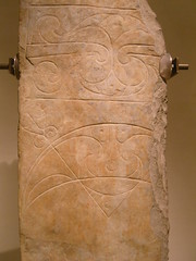 Pictish Stone in Edinburgh