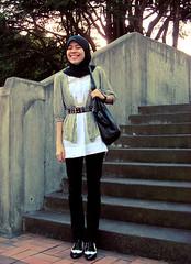 studded. (supernab) Tags: hijab wr