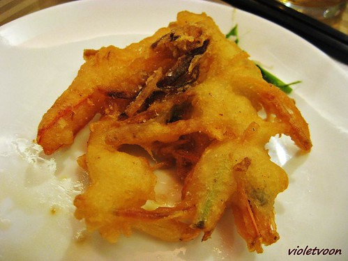 Deep Fried White Prawn with salt and Pepper