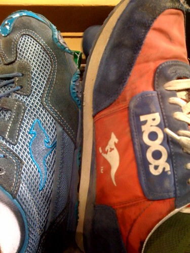 Cameron and I were sportin' our ROOS