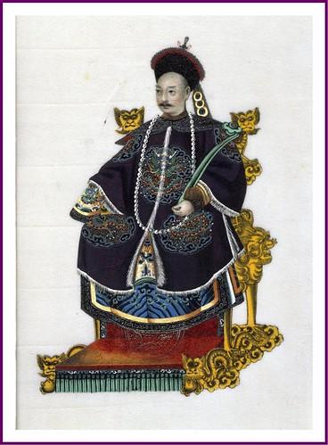 01-  Mandarin del primer rango 1820