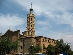 Leaning tower, Zaragoza (zhoel) Tags: spain zaragoza leaningtower