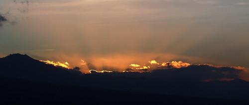Jemeluk sunset
