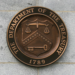 Department of Treasury Seal