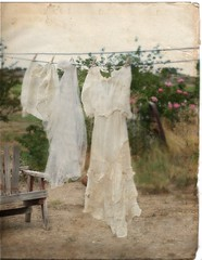 Laundry Day ('Playingwithbrushes') Tags: old art texture vintage explore laundry alteredart shabby freetouse playingwithbrushes