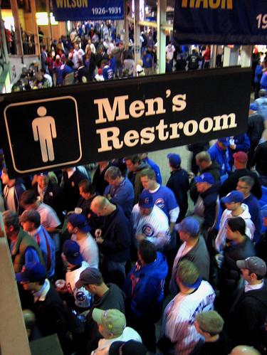 Wrigley Men's Restroom