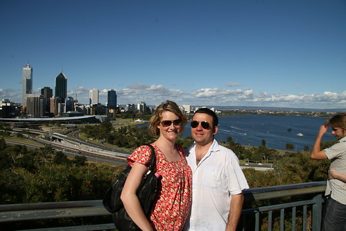 James & Emma in Kings Park