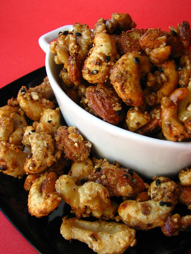 Indian-Spiced Nuts I