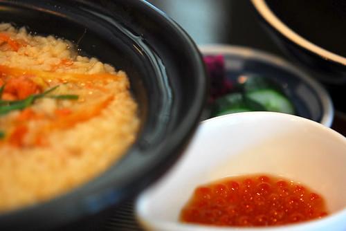 Sake Ikura Zousui (salmon and salmon roe porridge) - DSC_1104
