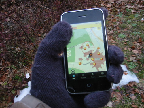 glove and iPhone 1