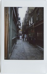 artillery lane (pfig) Tags: city london polaroid e1 londonist pfig date:year=2008 date:month=june camera:make=fuji camera:model=instaxmini55i file:path=~picturesscansepsonpolaroids file:name=img021tif