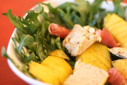 Salade de foie gras & mangue