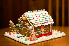 Eileen's House (MissMae) Tags: christmas house kids fun candy decoration gingerbread siblings merry gingerbreadhouse gumdrops savagephotography