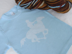 Custom Yarn and Tee