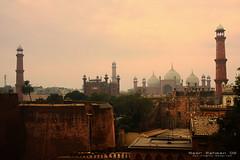 Significance (Nasr Rahman) Tags: canon angle fort wide places 11 mosque tokina historical 16 rahman lahore nasr uwa badshahi nusair