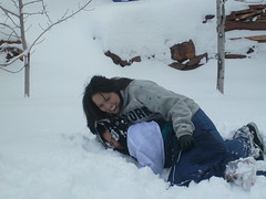 I'll always get you back! (angiespics22) Tags: snow newmexico santafe