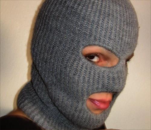 woman ski mask