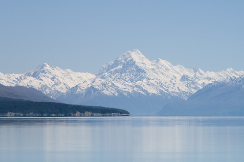 Southern Alps from Lake Pukaki