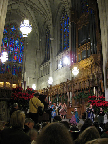 Nativity at Duke Chapel, 2008