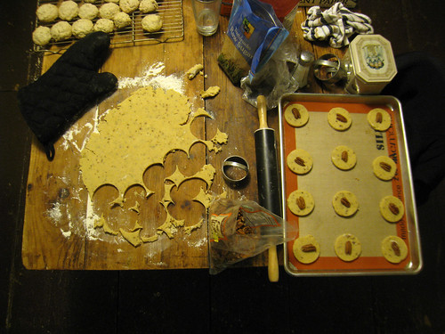 Baking Cookies On Christmas