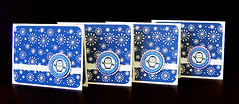 Warm Winter Wishes cards (prospurring (Anne)) Tags: blue winter white warm ranger purple wishes ribbon coloredpencils prismacolor heroarts oms bobunny creativememories eksuccess warmwishes versamark cornerrounder doubledot hotoffthepress heatembossing gamsol warmwinterwishes archivalink tsukineko cutterbee embossingpowders odorlessmineralspirits waterproofinks watermarkinks 3ddots cl240 cl243 cl117 snowflakebackgrounds wintermessages paperpizazz