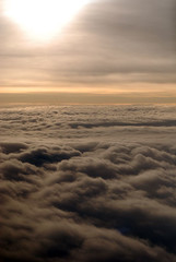 above the oregon clouds