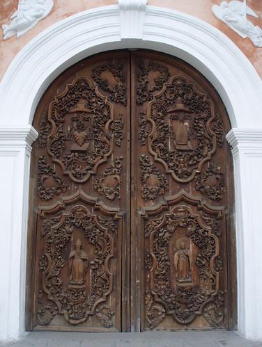 St Augustine door