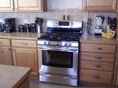 My shiny new stove!