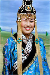 Mongolia, Mongoli, Mongolei Travel Photography of Naadam Festival.22 (Hans Hendriksen Travel Photography) Tags: life travel costumes people girl smile festival photography costume dress traditional folklore daily mongolia mongolei folclore kostuum naadam nadam nadaam naadamfestival mongoli altaic  folcloristic